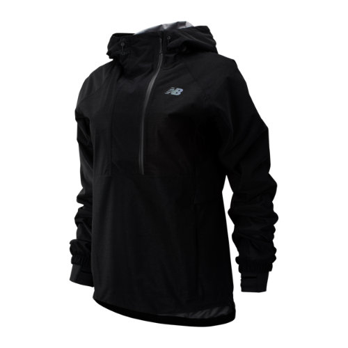 New Balance 93259 Women's Q Speed Waterproof Anorak - Black (WJ93259BK)