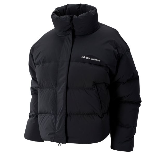 Women's Sport Style Select Cropped Heat Down Jacket