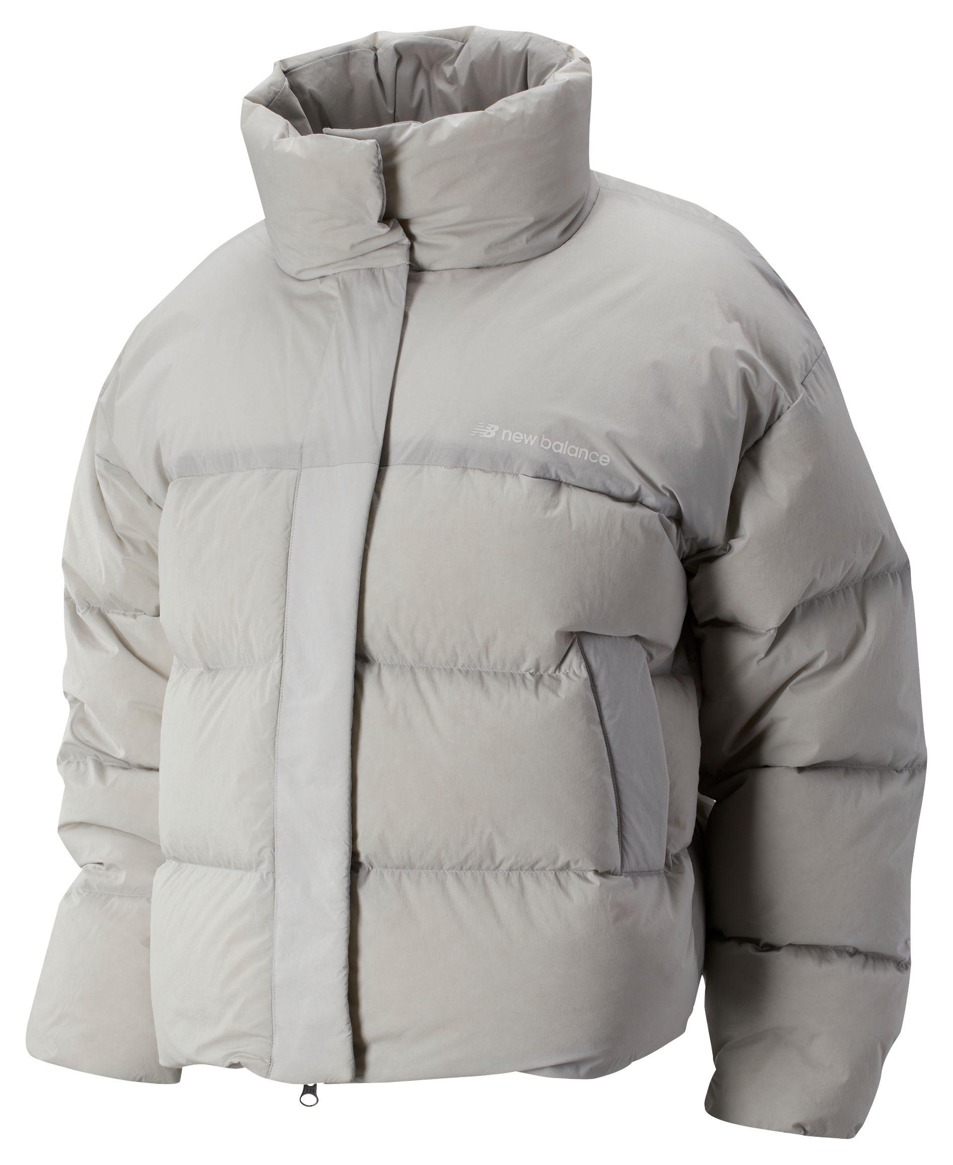 Women's 2019 NYC Marathon Sport Style Select Cropped Heat Down Jacket
