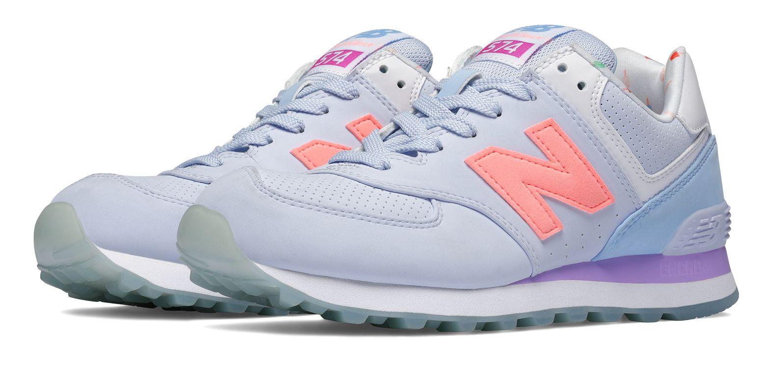 new balance women's wl574 state fair running shoe