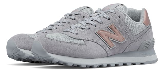 Women's 574 Molten Metallic
