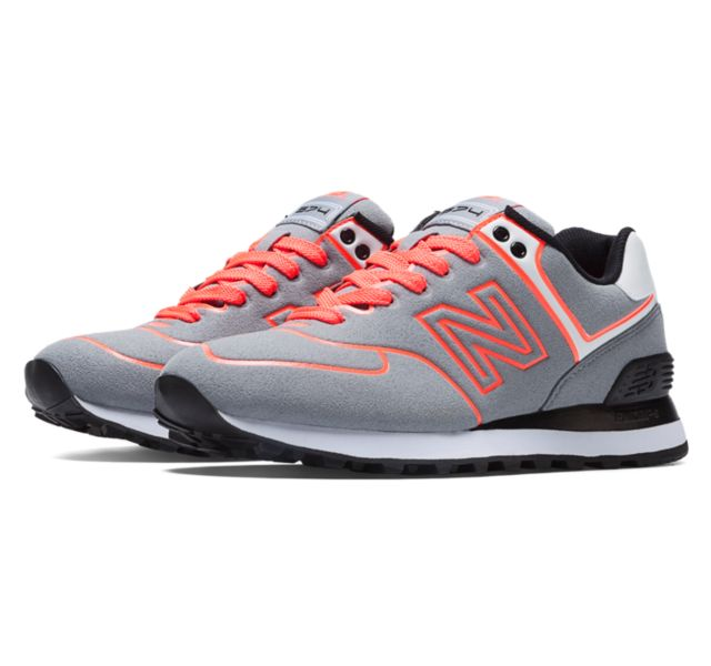 new balance 574 neon lights