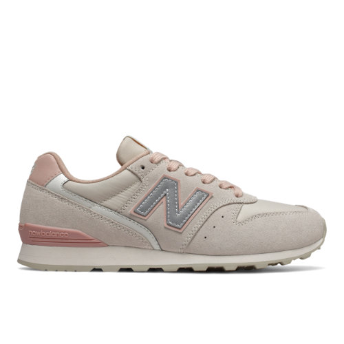 996 Women's Running Classics Shoes - Off White/Pink (WL996AA)