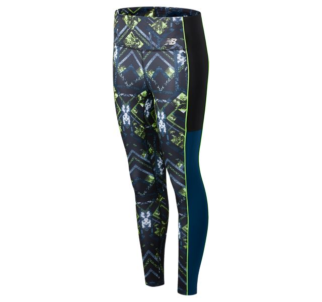 Women's Printed Fast Flight 7/8 Tight