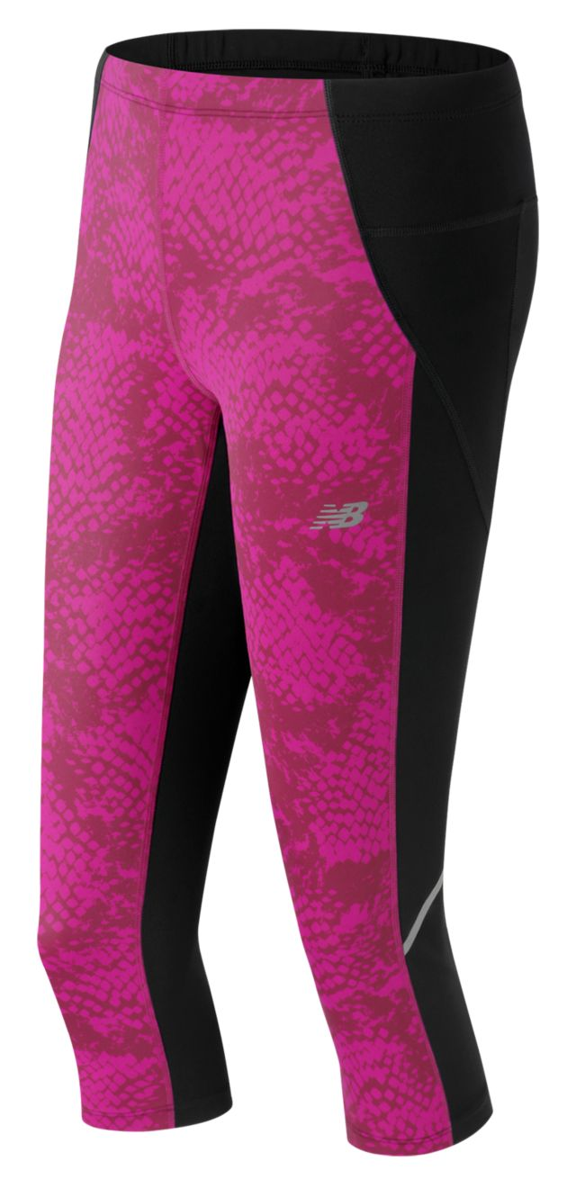 Women's Printed Accelerate Capri