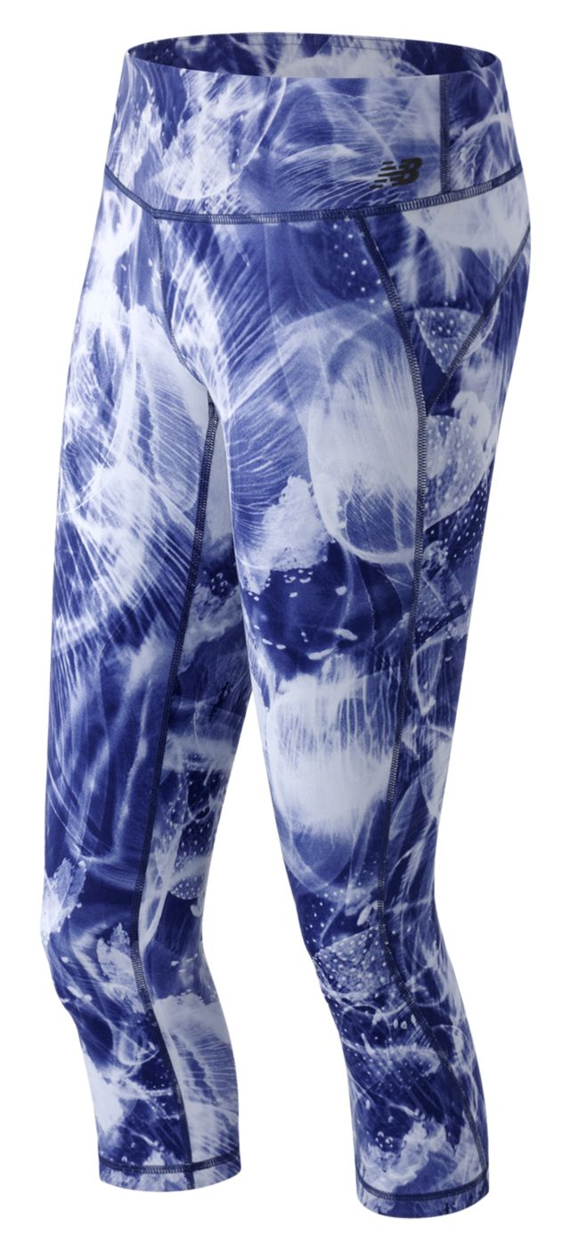 Women's Premium Performance Print Capri
