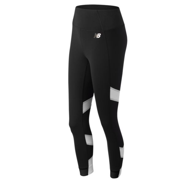 New Balance Women's Evolve Tight Black with White