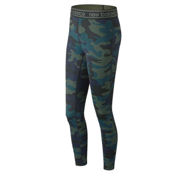Women's Printed Color Block Accelerate Tight 2.0