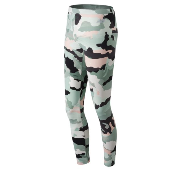 Women's Essentials Aqua Camo Legging