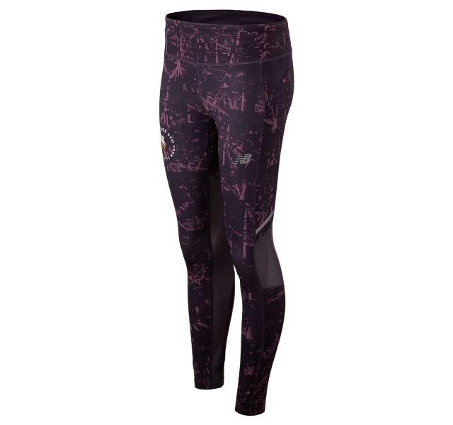 Women's 2019 NYC Marathon Printed Impact Tight
