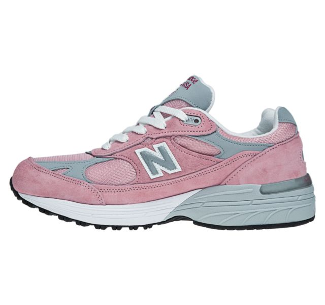 new balance 993 pink and grey
