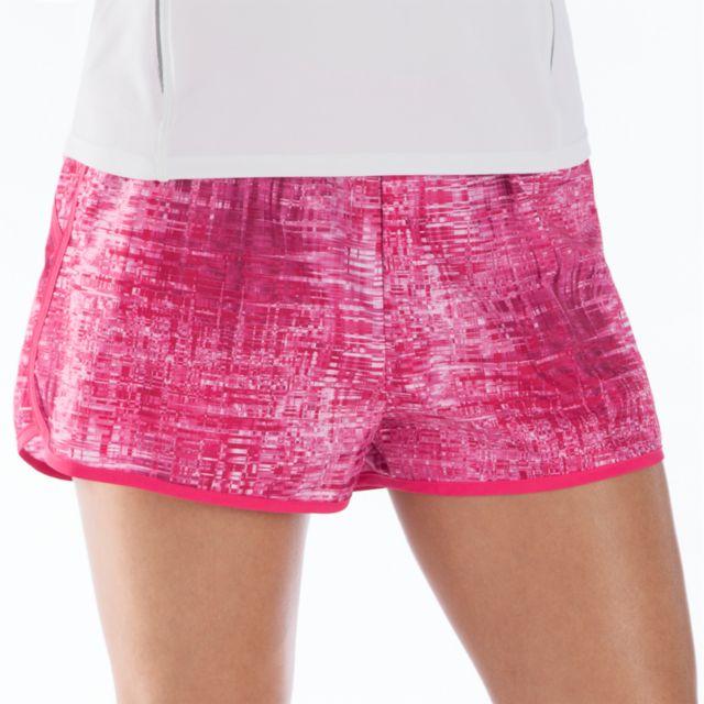 Womens Print Momentum Shorts