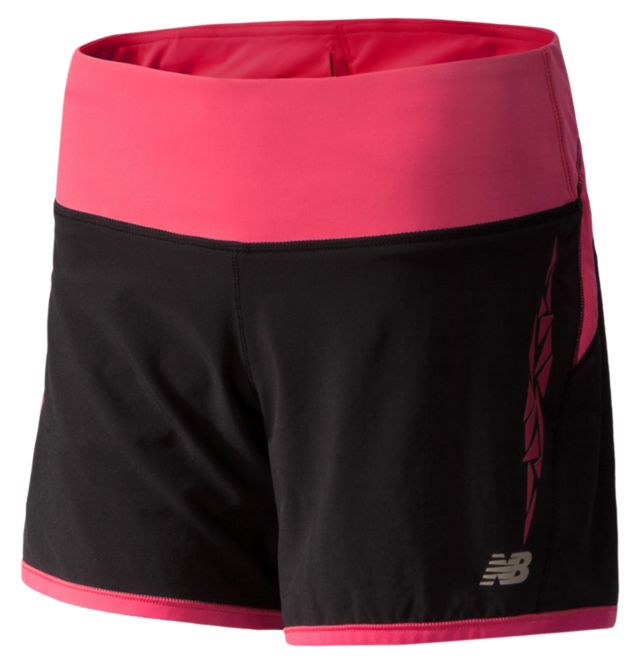 Womens Impact 5 Inch 2 in 1 Shorts