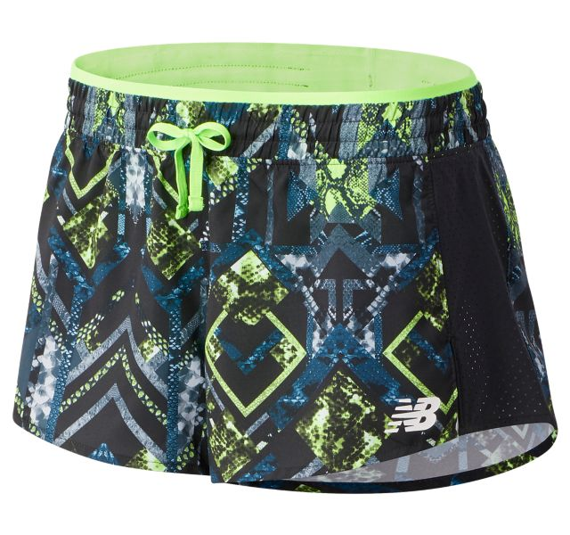 Women's Printed Fast Flight Split Short