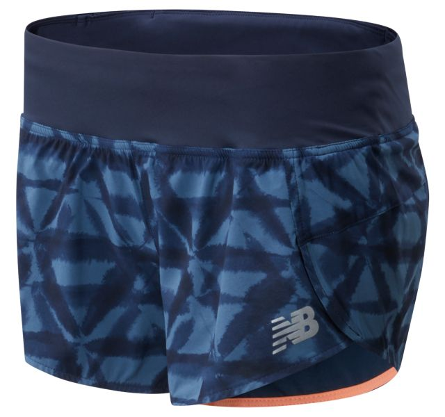 Women's Printed Impact Run Short 3 Inch