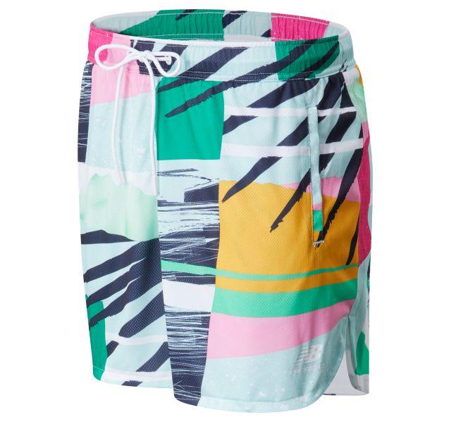 Women's NB Athletics Tropics Printed Mesh Short