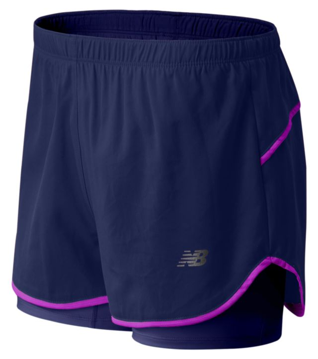 Women's Woven 2 in 1 Short