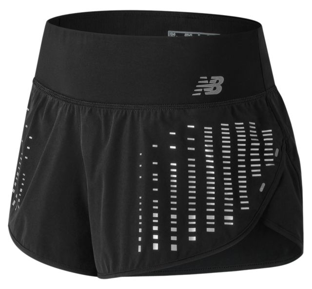 Women's 3 Inch Reflective Impact Short