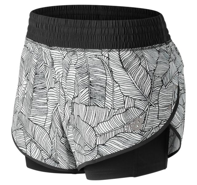 Women's 4 Inch Printed Impact Short