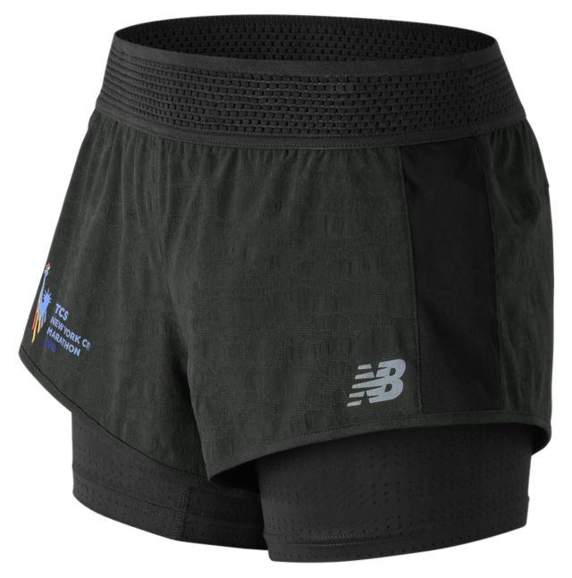 Women's NYC Marathon Q Speed Mesh Training Short