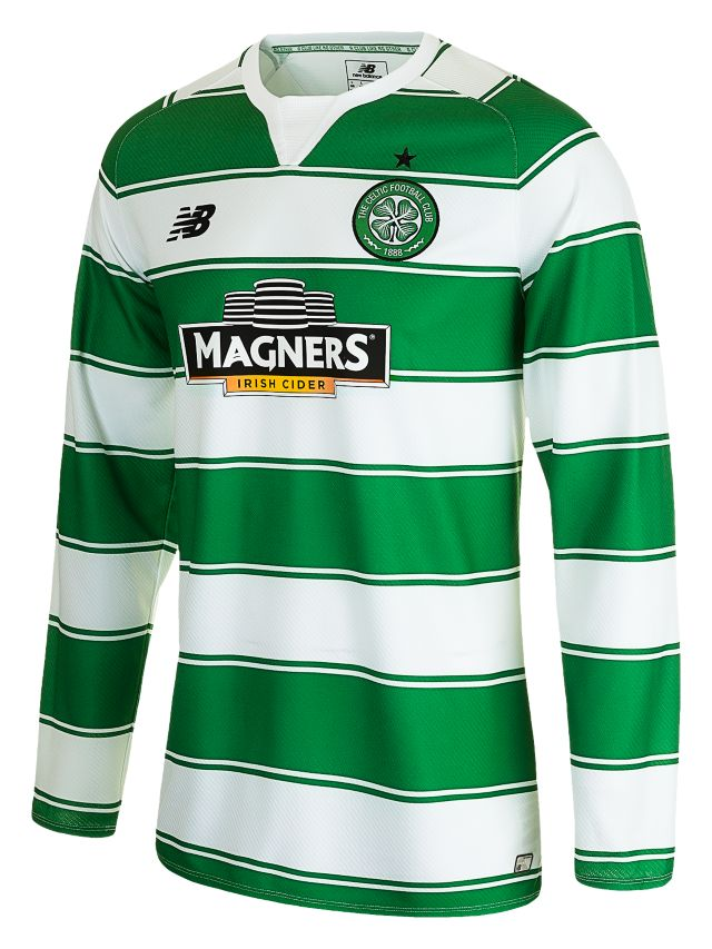 Celtic Mens Home LS Jersey