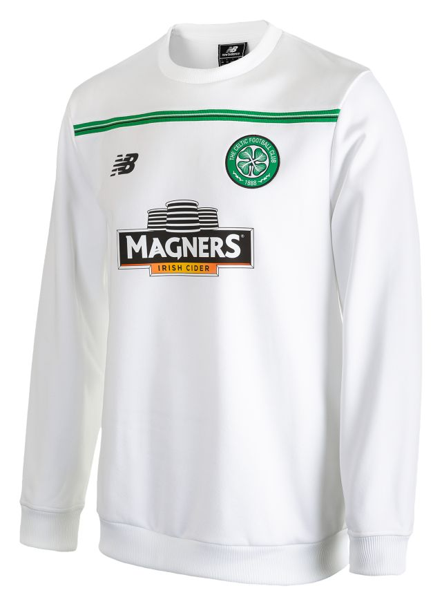 Celtic Mens Training Sweat Top