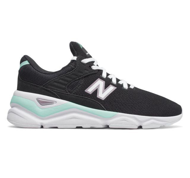 New Balance Women's X90 V1 Sneakers (Black/Light Reef)