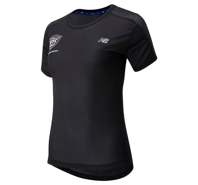 New Balance Women's 2020 United Airlines Half Impact Run Short Sleeve