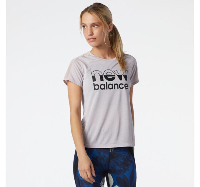 Women's Printed Impact Run Short Sleeve