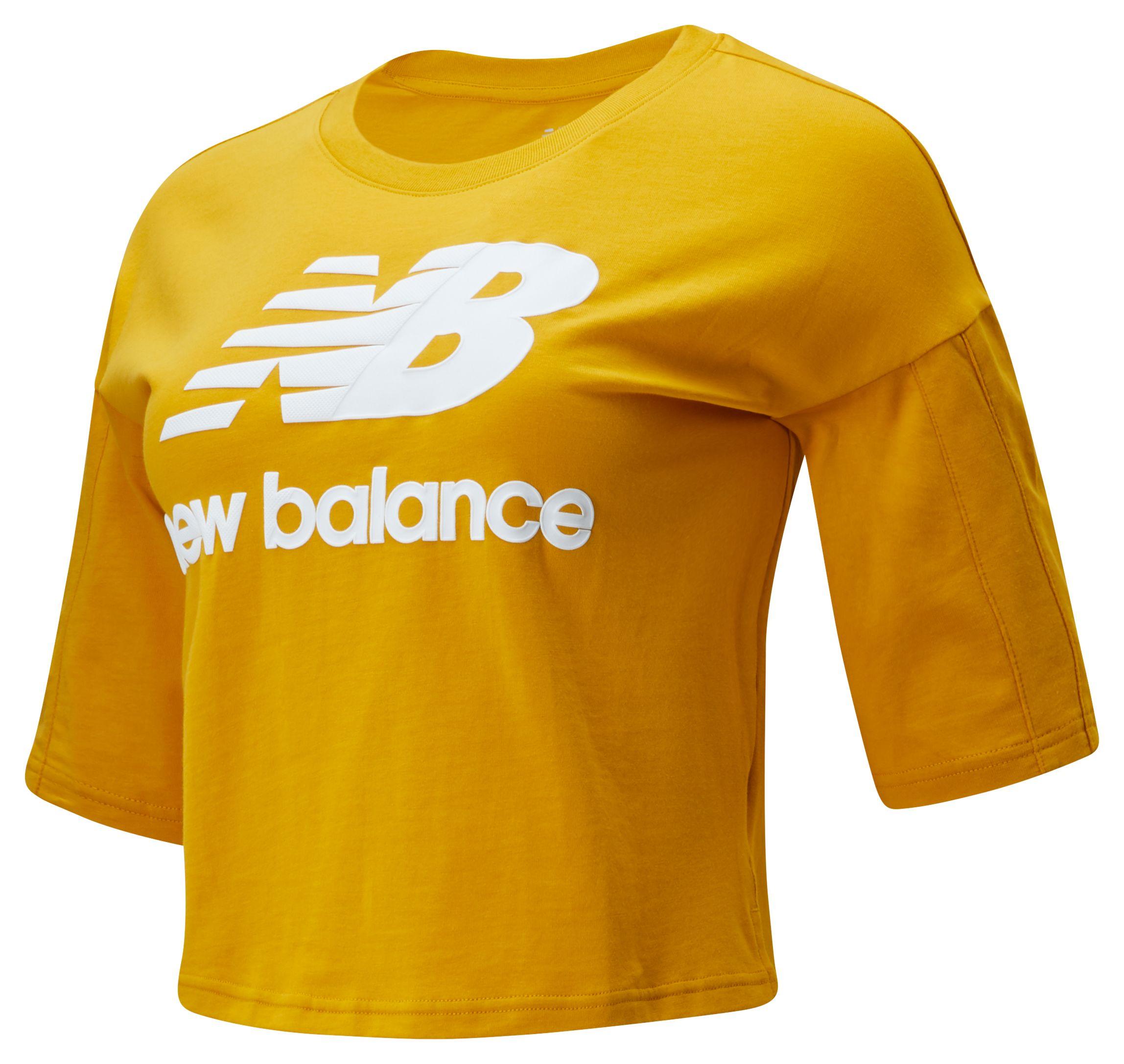 *Markdown*  Women's NB Athletics Short Sleeve Stacked Tee