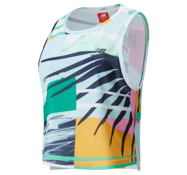 Women's NB Athletics Tropics Sleeveless Printed Tank