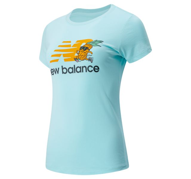 Women's NB Athletics Tropics Stacked Logo Tee