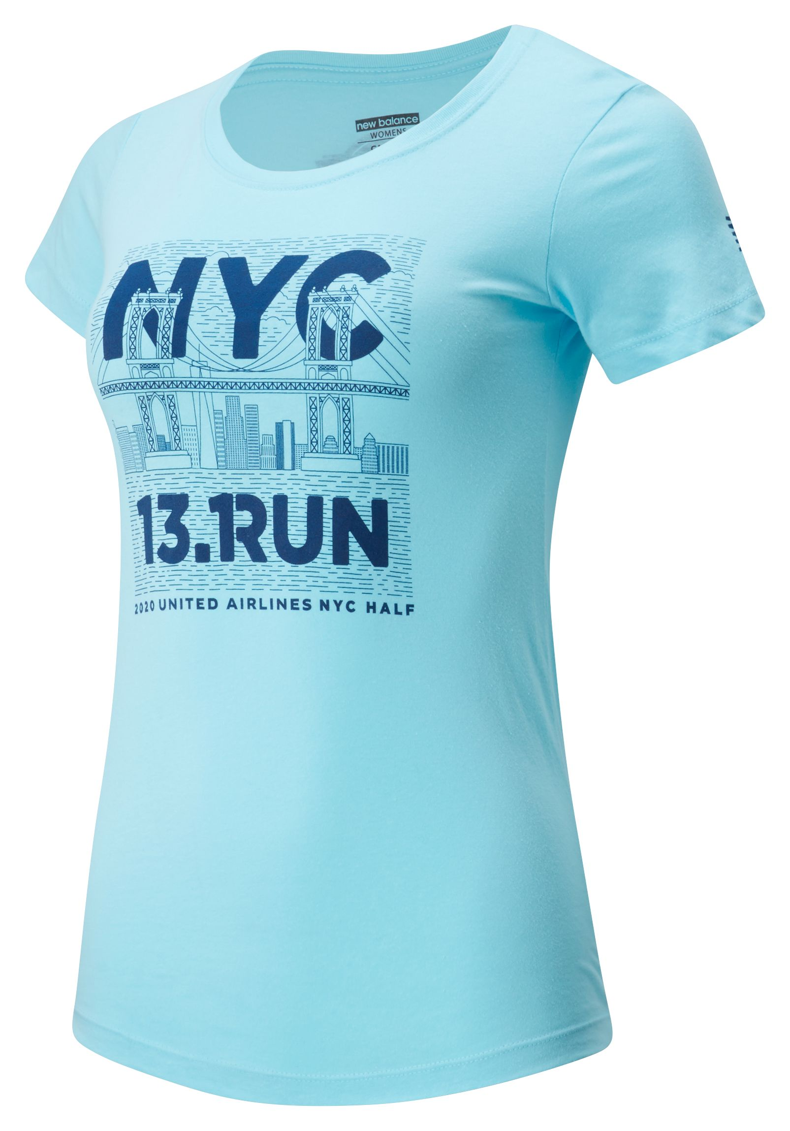 Women's 2020 United Airlines Half Bridge Tee