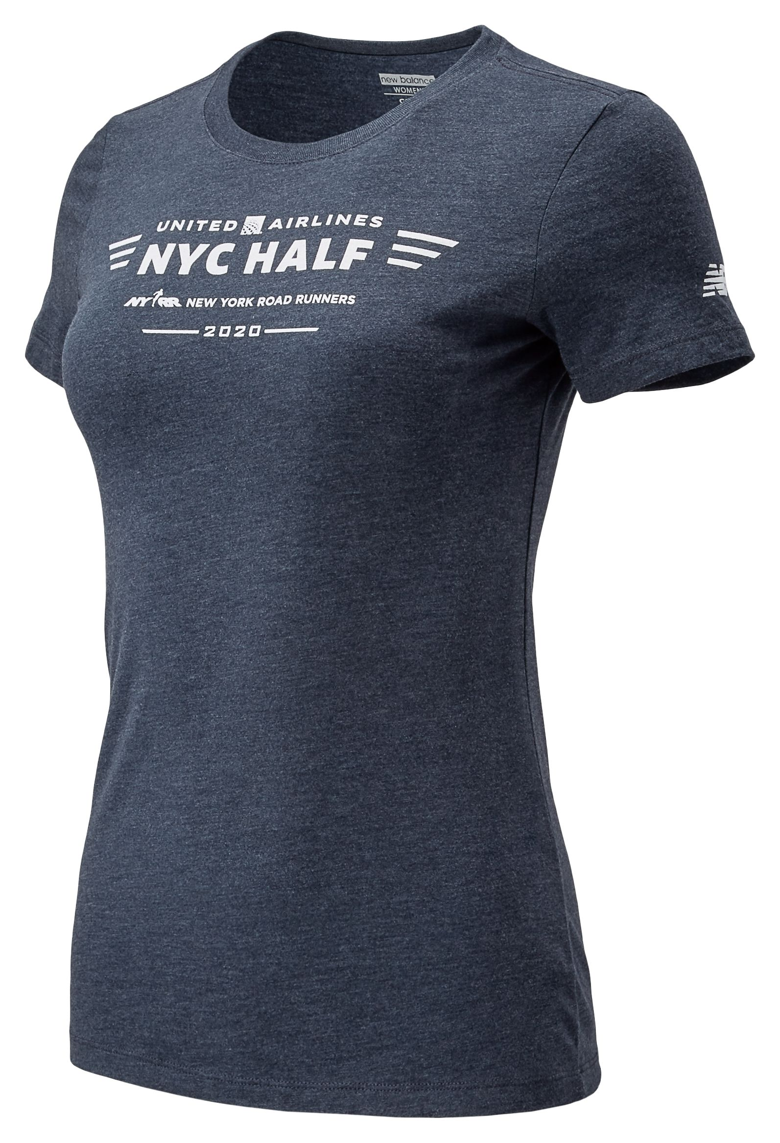 2020 United Airlines Half Logo Tee