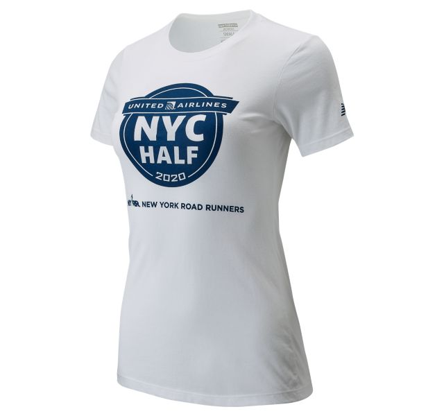 Women's 2020 United Airlines Half Finisher Map Tee