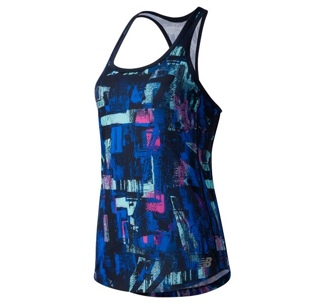 Women's Printed Accelerate Tank
