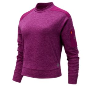 Women's NB Heat Grid Long Sleeve