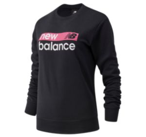 Women's NB Classic Core Graphic French Terry Crew