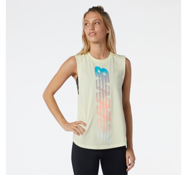 Women's Relentless Cinched Back Graphic Tank