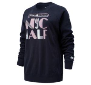 Women's United Airlines NYC Half Lights Crew Sweatshirt