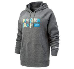 Women's United Airlines NYC Half Finisher Sign Hoodie