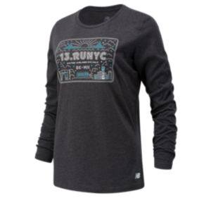 Women's United Airlines NYC Half Cityscape Long Sleeve