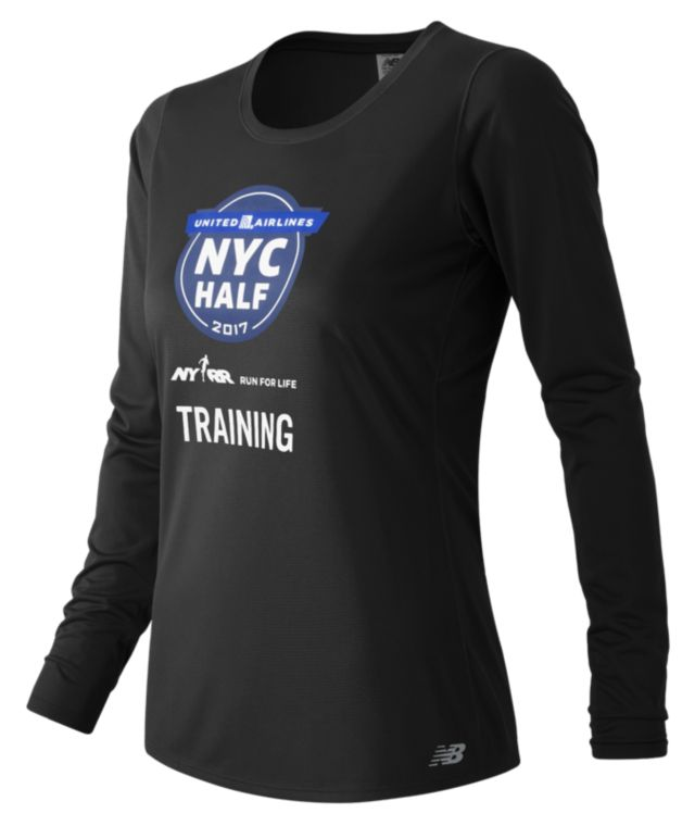 United NYC Half Training LS Tee