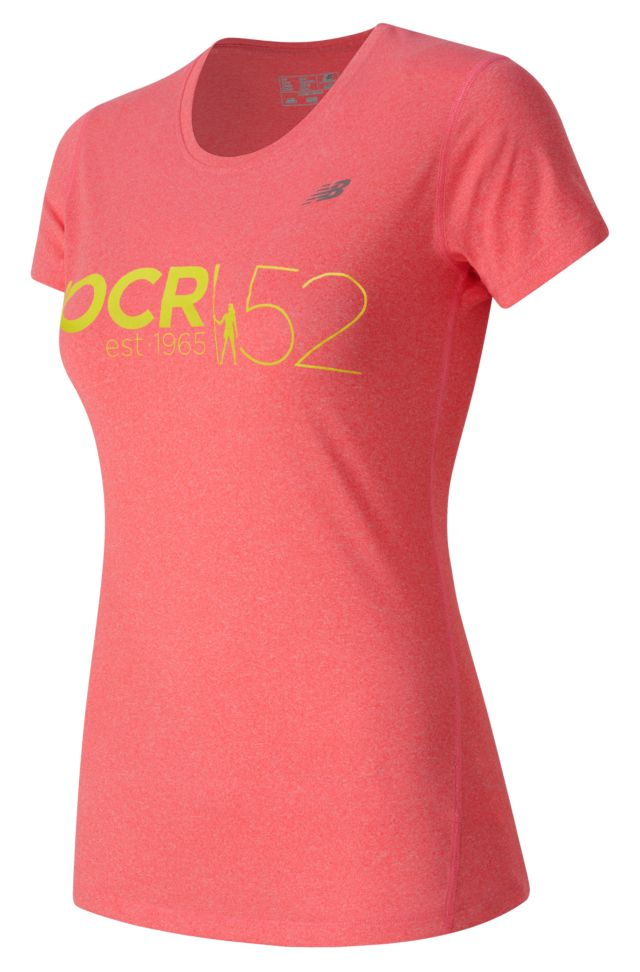 HOCR Heathered Short Sleeve Tee