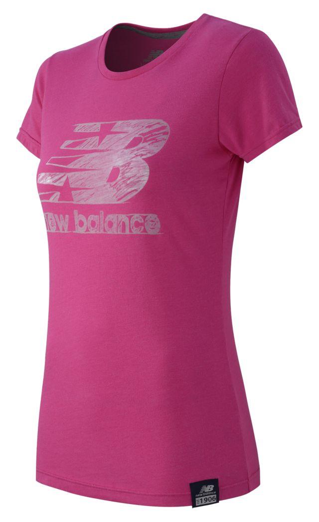 Women's Essentials Plus SS Logo Tee