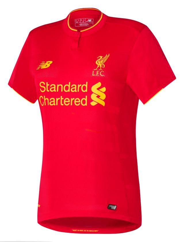 LFC Womens Home Short Sleeve Jersey