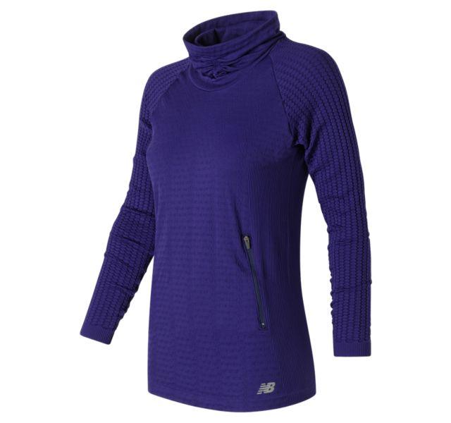 Women's / Clothing / Performance / Long Sleeve / M4M Seamless Cable Pullover.  M4M Seamless Cable Pullover