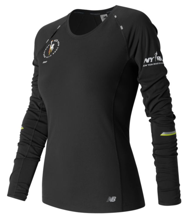 Women's NYC Marathon NB Ice Long Sleeve