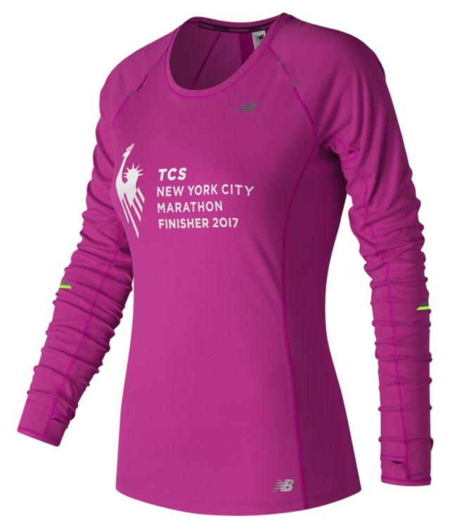 NYC Marathon Finisher NB Ice Long Sleeve