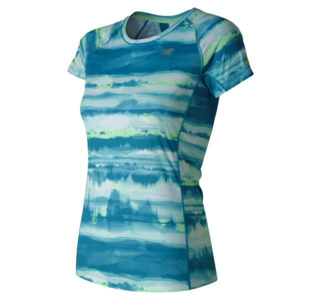 Women's NB Ice Printed Short Sleeve